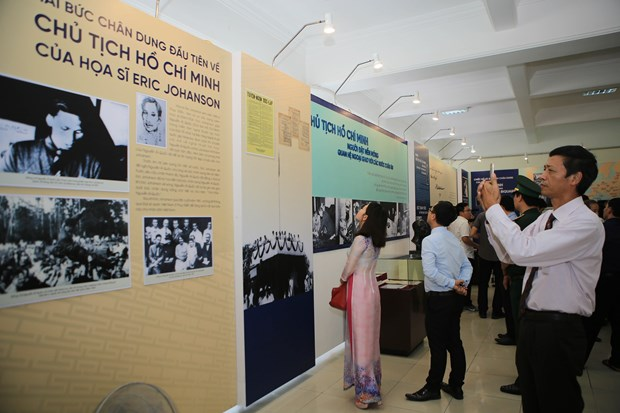 Thua Thien-Hue: Exhibition reflects Ho Chi Minh's ties with Europe hinh anh 1