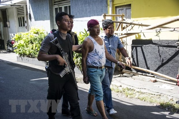 ASEAN condemns terrorist attacks in Indonesia hinh anh 1