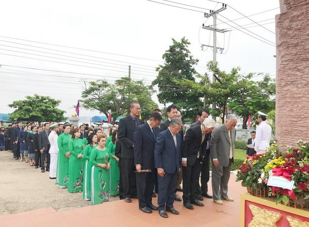President Ho Chi Minh's birth anniversary marked in Laos, Chile hinh anh 1