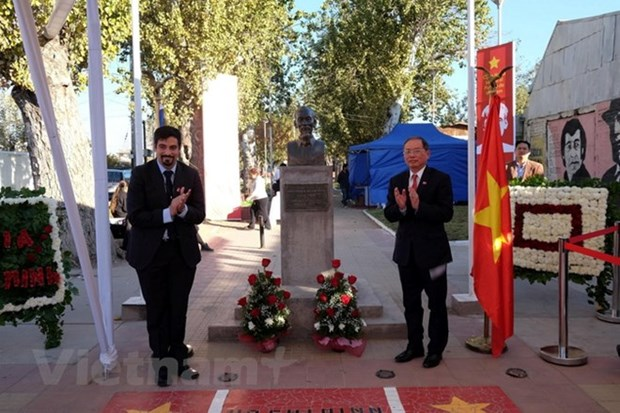 President Ho Chi Minh's birth anniversary marked in Laos, Chile hinh anh 2
