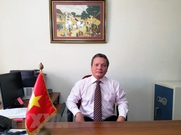 Vietnam's Embassy in Algeria marks late President's 128th birthday hinh anh 1