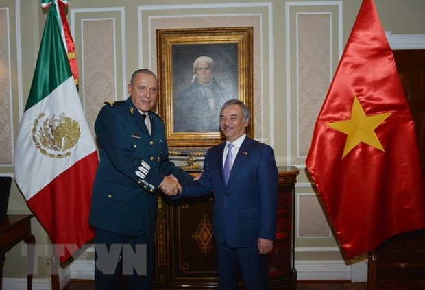 Mexican defence chief receives new Vietnamese Ambassador hinh anh 1