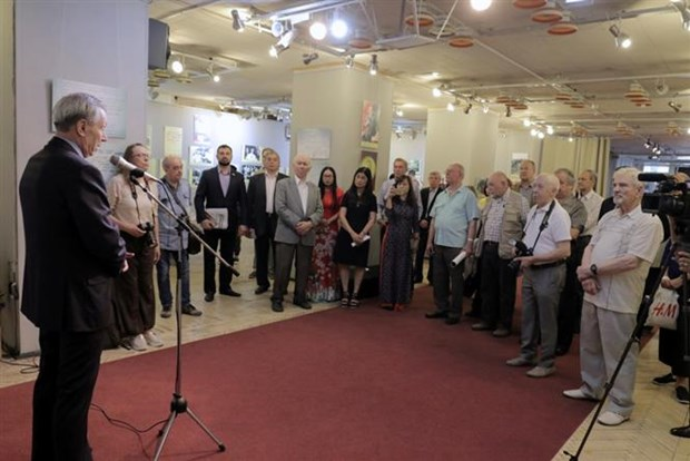 Exhibition on President Ho Chi Minh opens in Russia hinh anh 1
