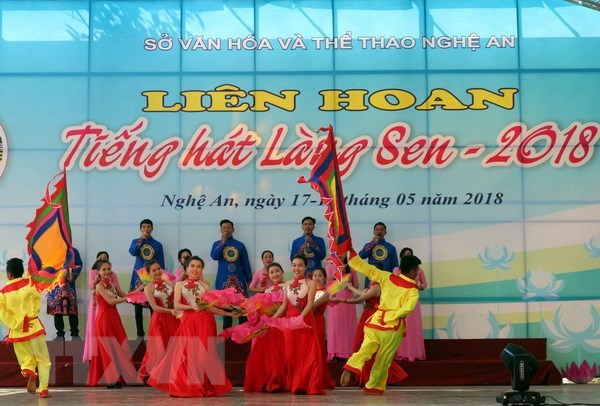 Nghe An: Festival marks 128th birth anniversary of Ho Chi Minh hinh anh 1