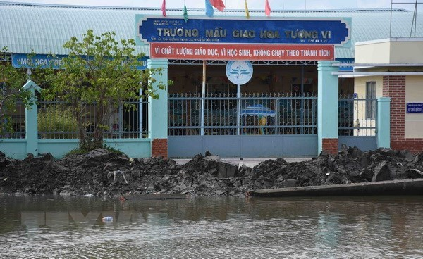 More capital to be poured into Mekong Delta to address erosions hinh anh 1