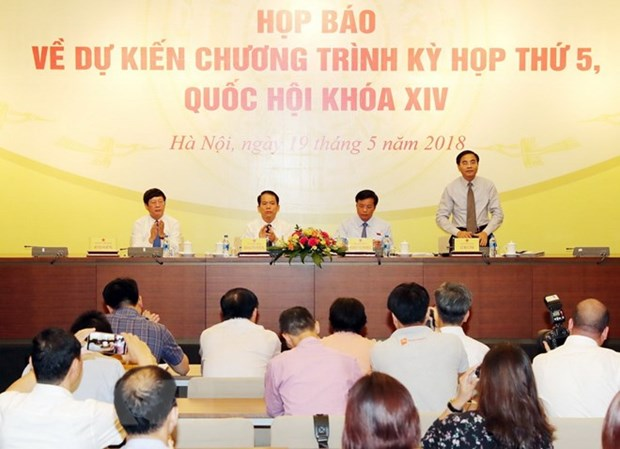 National Assembly to convene 5th session on May 21 hinh anh 1