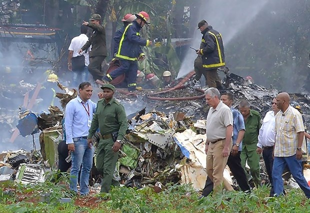 Sympathy to Cuba over plane crash hinh anh 1