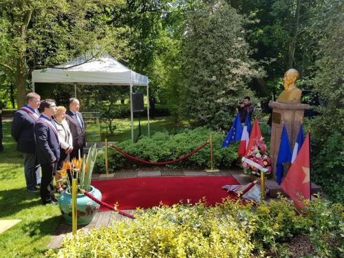 Ho Chi Minh's birth anniversary marked in France hinh anh 1