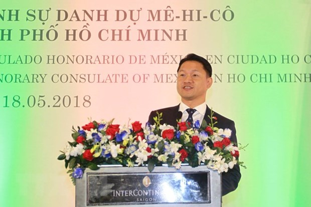 Mexico's Honorary Consul makes debut in Ho Chi Minh City hinh anh 1