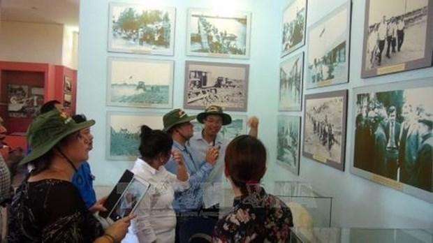 Cuban youth delegation visits Quang Tri hinh anh 1