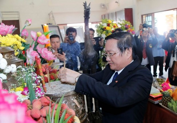 Activities mark President Ho Chi Minh's 128th birthday abroad hinh anh 1