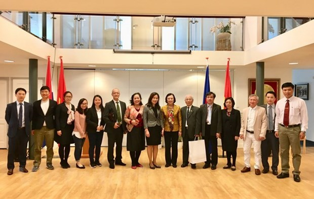 Party mass mobilisation commission delegation visits Netherlands hinh anh 1