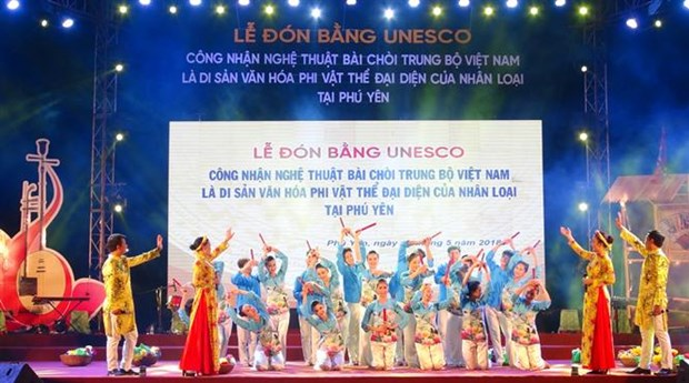 Phu Yen welcomes UNESCO status for Bai Choi singing hinh anh 1