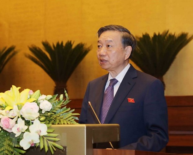 14th National Assembly opens fifth session hinh anh 1