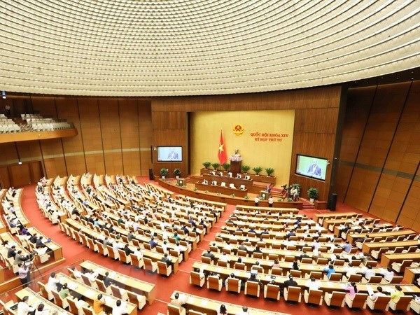 Fifth session of 14th National Assembly opens in Hanoi hinh anh 1