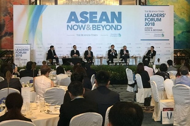 Singapore calls on ASEAN to unite against protectionism hinh anh 1