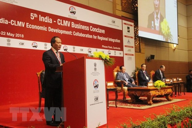 Vietnam attends India-CLMV trade conference in Cambodia hinh anh 1
