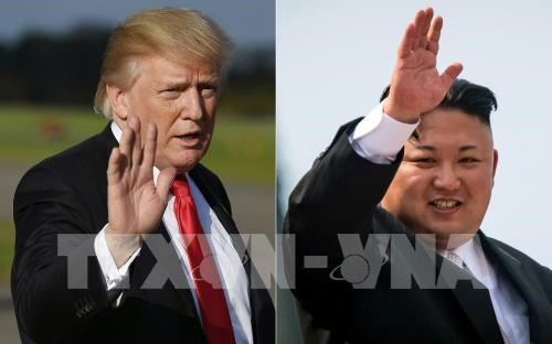 Japan, Singapore agree cooperation toward US-DPRK summit hinh anh 1