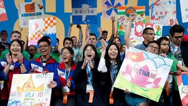 Vietnamese students win prizes at int'l science contest in US hinh anh 1