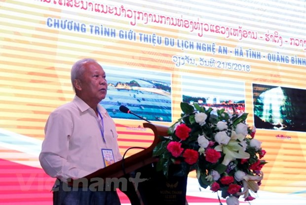 Vietnam central localities promote tourism in Laos hinh anh 1