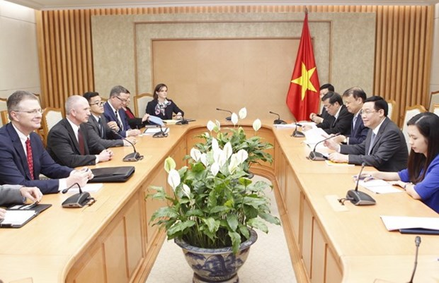 Trade cooperation a focus of Vietnam-US ties: Deputy PM hinh anh 1