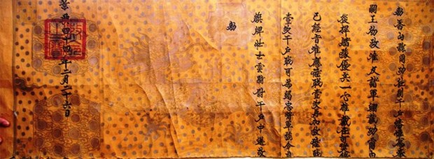 Researchers discover 18th century royal promotion decree hinh anh 1