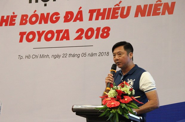 Toyota camp helps young talents nurture football dreams hinh anh 1