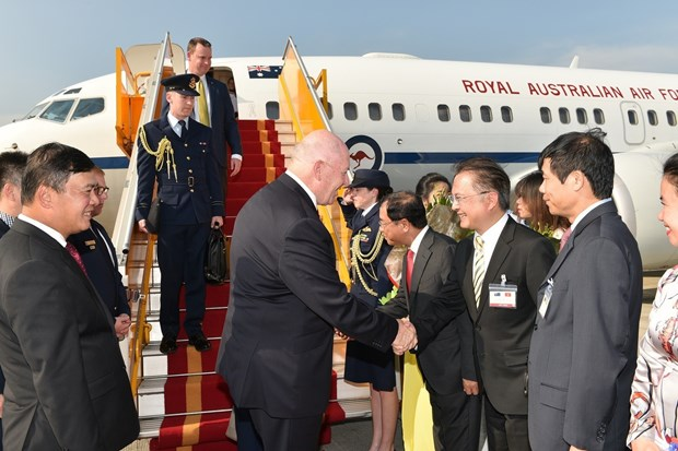 Governor-General of Australia begins State visit to Vietnam hinh anh 1