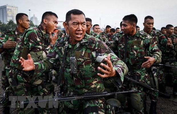 Indonesia aims to set up command for anti-terrorism special force hinh anh 1