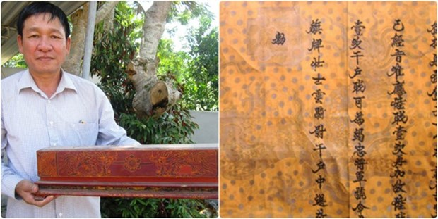 Researchers discover 18th century royal promotion decree hinh anh 2