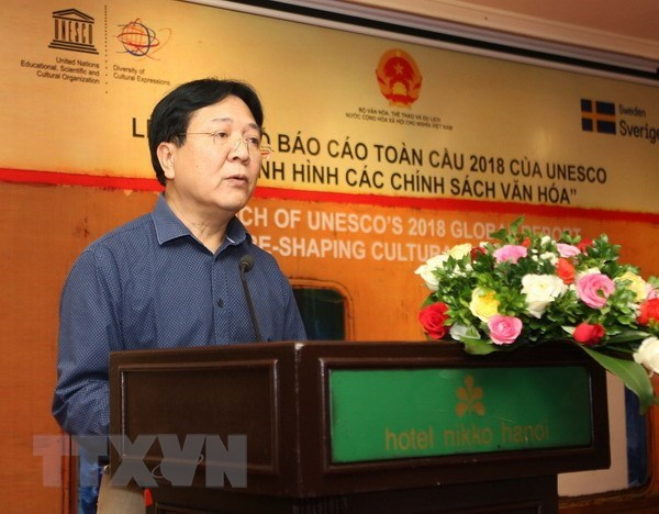 UNESCO report notes progress in promoting cultural expressions diversity hinh anh 1