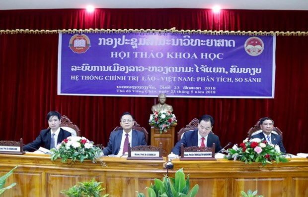 Vietnam, Laos review political system hinh anh 1