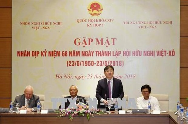 Vietnam-Russia Friendship Association marks 68th year hinh anh 1