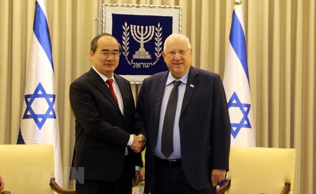 HCM City wishes to foster cooperation with Israel hinh anh 1