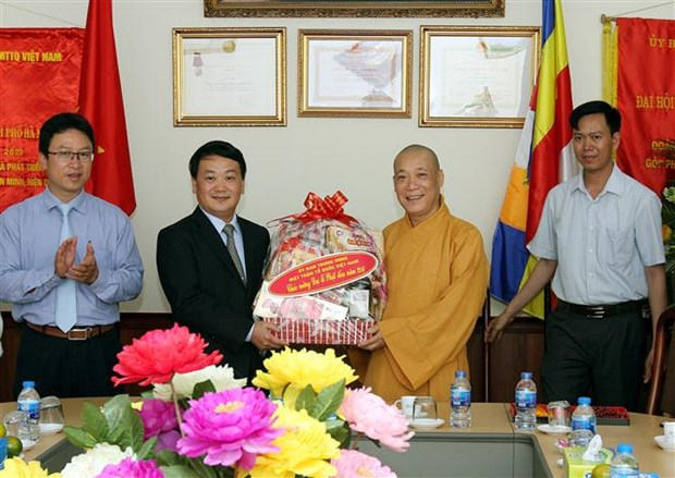 VFF Vice President sends wishes on Lord Buddha's birthday hinh anh 1