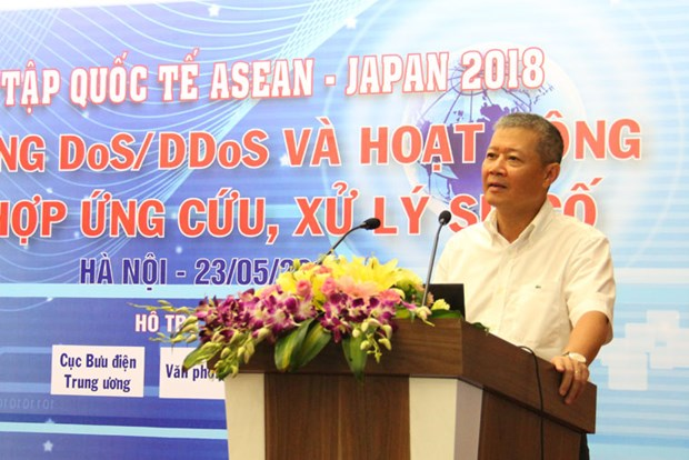 Vietnam hosts 2018 ASEAN-Japan cyber security hinh anh 1