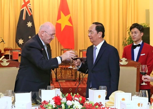 Vietnam proud to have a friend like Australia: President Tran Dai Quang hinh anh 1