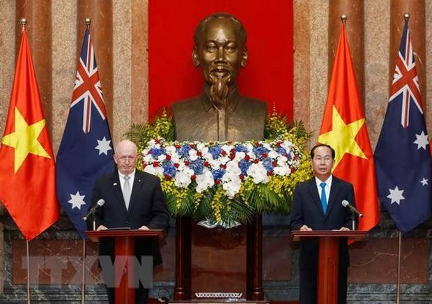 Vietnam, Australia resolved to advance relationship hinh anh 1
