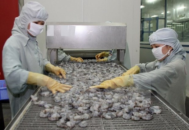 Seafood shipments to EU drop hinh anh 1