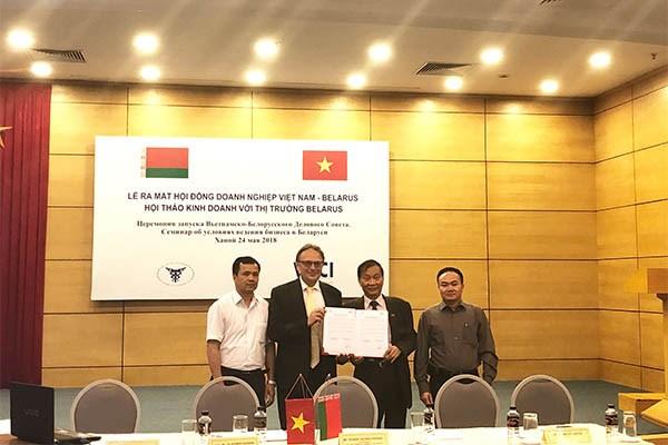 Vietnam-Belarus Business Council debuts hinh anh 1