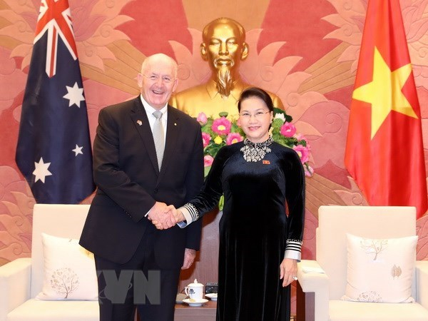 Vietnamese NA supports strategic partnership with Australia hinh anh 1
