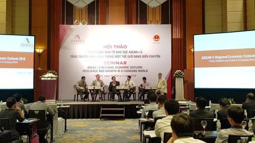 ASEAN+3 economies should enhance connectivity: seminar hinh anh 1