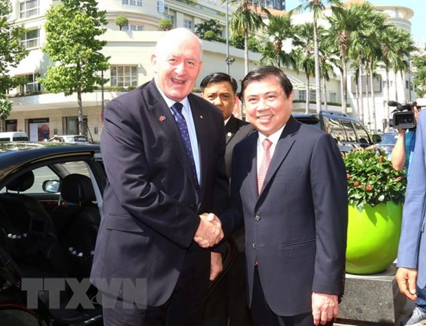 HCM City looks to tighten ties with Australia hinh anh 1