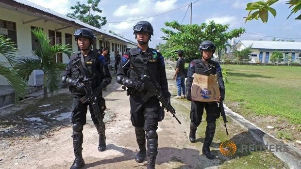 Indonesia passes new anti-terrorism law hinh anh 1