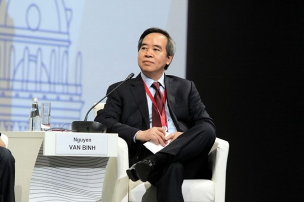Party official delivers speech at Russia's Int'l Economic Forum hinh anh 1