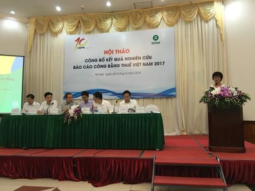 Vietnam's tax equity report 2017 announced hinh anh 1
