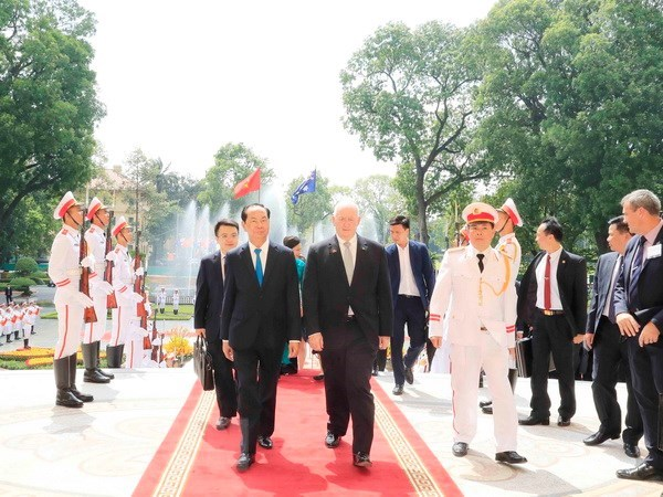 Australian Governor-General wraps up State visit to Vietnam hinh anh 1