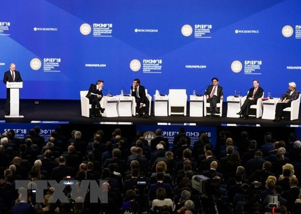 St. Petersburg forum looks to create economy of trust hinh anh 1