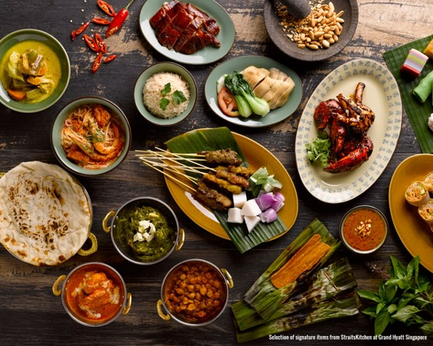 Singaporean cuisine tabled in HCM City hinh anh 1
