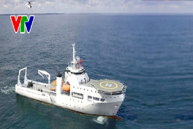 Vietnam starts building its first submarine rescue ship hinh anh 1